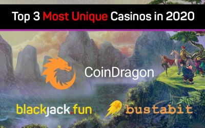 Top 3 Most Unique Casinos in 2020