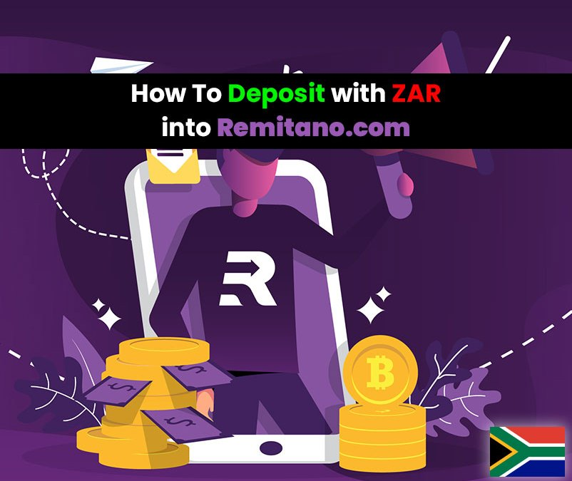 How to deposit into the ZAR wallet on Remitano.com