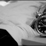 眠る時には、時計を見てはいけない!
