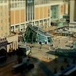 iPhone4 ProHDR TiltshiftGen 札幌駅前のミニチュア風