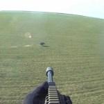 ヘリコプターからのイノシシ射撃ビジネス1時間8万5000円