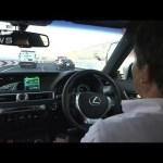 日本の高速道路でトヨタが自動運転実験