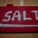 アトピータイプの肌に、お風呂の後の塩パック 塩化粧水