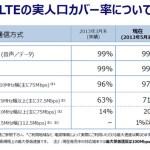 iPhone5 auの人口カバー率96%ではなく14%だったとは!