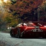 Lamborghini Veneno Roadster 4k Wallpaper Digital Art Autumn Cars 1429