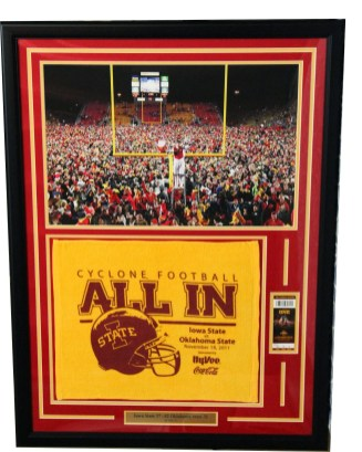 Custom Framed Memorabilia