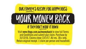 your money back