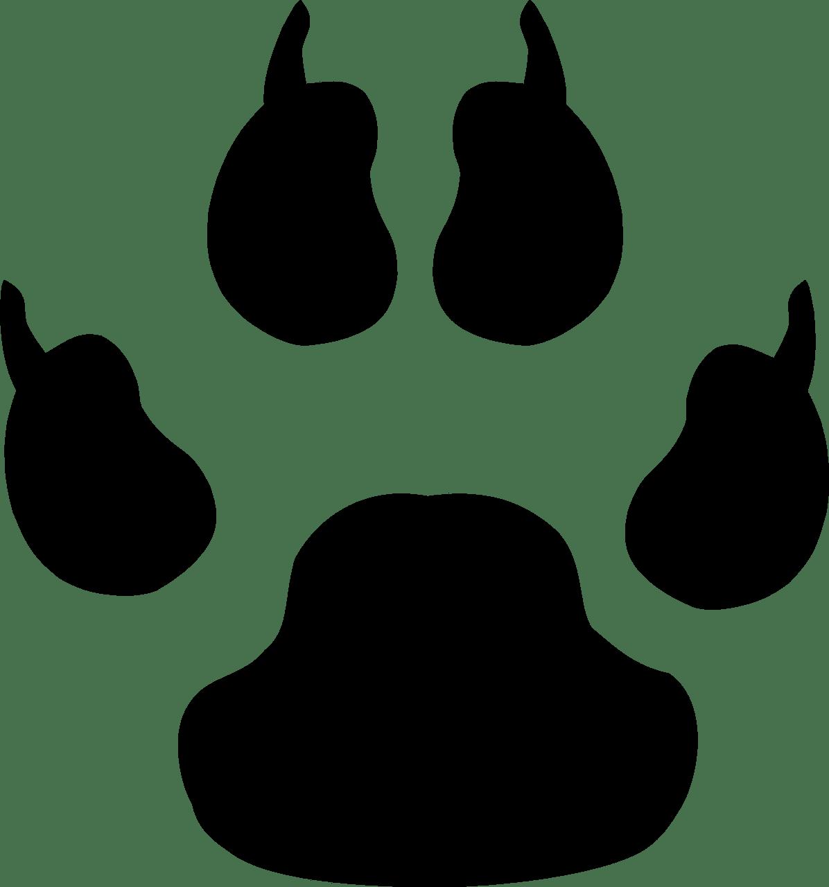 animal print, paw, paw print