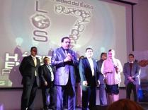 Pastor Omar Duarte Diamante Presidencial en el hotel Holiday Inn en mangua nicaragua