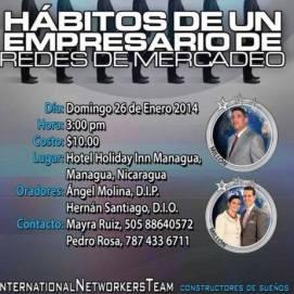 Los 7 habitos de la gente efectiva en las Redes de Mercadeo by 4life Nicaragua
