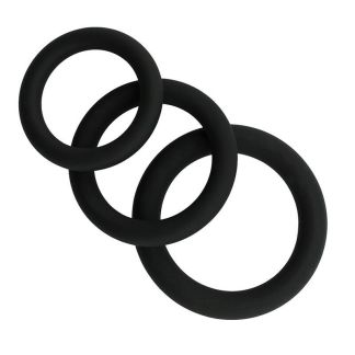 Thick Silicone Cock Ring Set