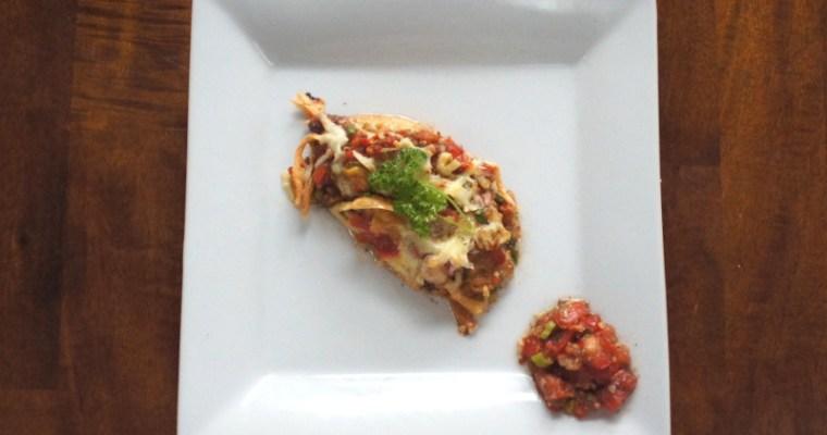 Bruschetta Baked Three Cheese Chicken