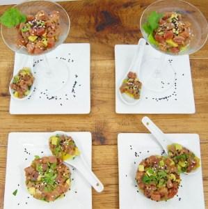 Asian Inspired Tuna Tartare