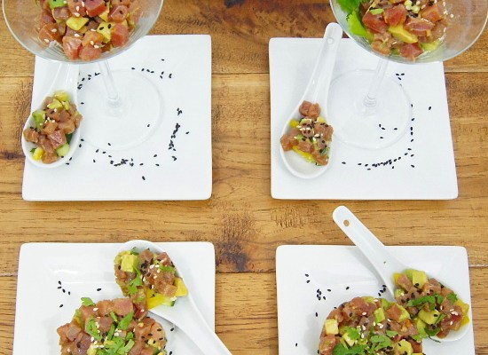 Asian Inspired Tuna Tartare