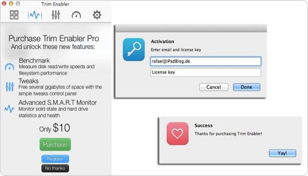Trim Enabler Pro 4.1 Mac crack