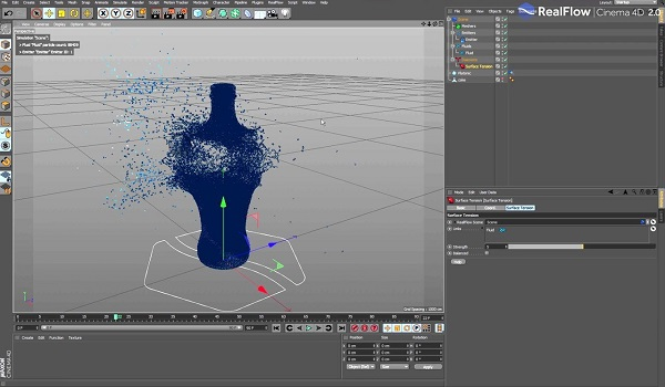 RealFlow Cinema 4D 2.0 for mac free download