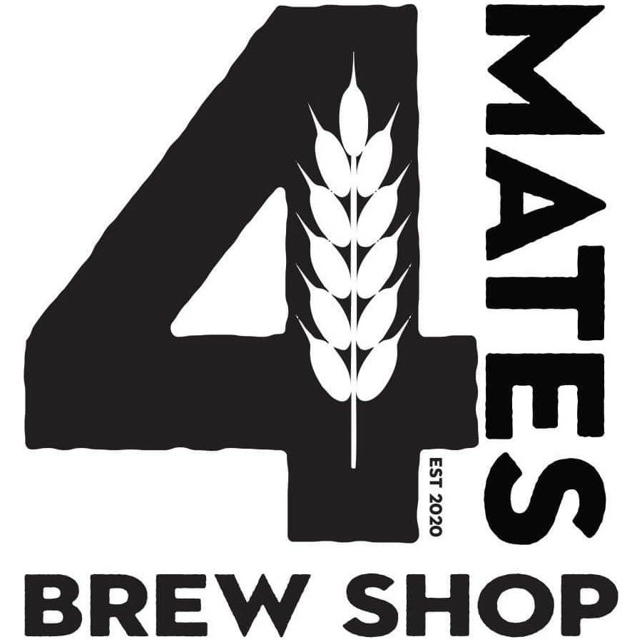 4MATES Brew Shop Logo