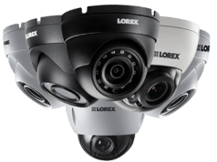 Security cameras with all the features you need to help protect what matters most. Lorex specializes in indoor and weatherproof outdoor security cameras, featuring both dome and bullet camera styles.