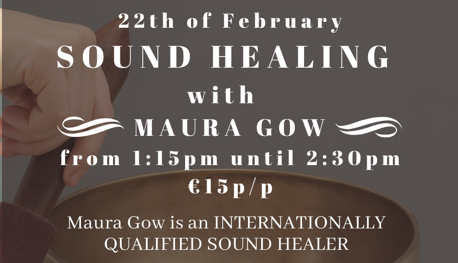 Sound healing with Maura
