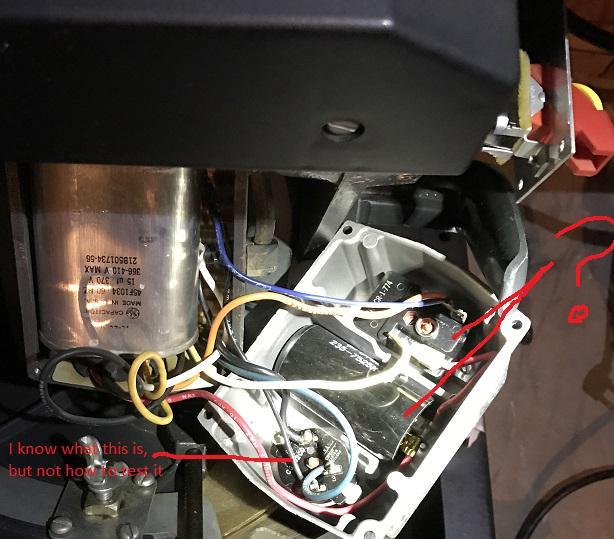 Craftsman 12 Radial Arm Saw Electrical Problem