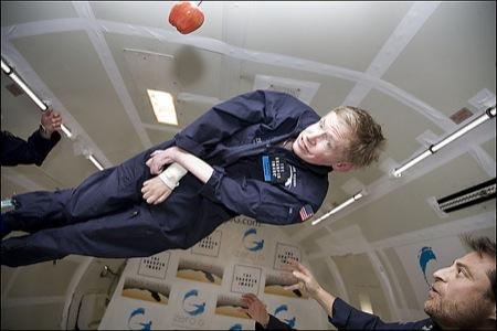 PH2007042602828 - Stephen Hawking in assenza di gravità