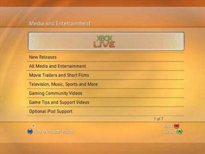 dashboardupdate2007live - Update della dashboard per Xbox 360: tutte le novità