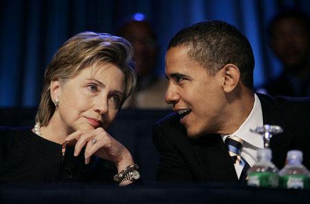clintonobama2022008 - Primarie USA: Obama e McCain ancora vincenti