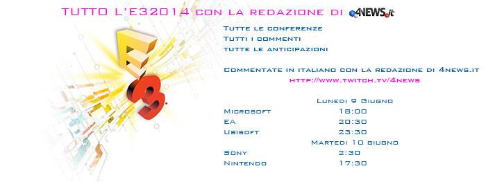 e3 outro - E3 2014 - DIRETTA - 4News.it