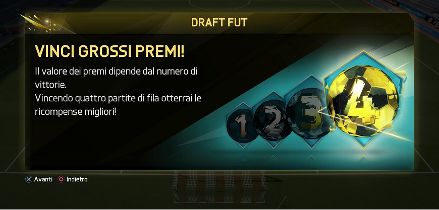 FIFA 16 Draft FUT nei menu 4