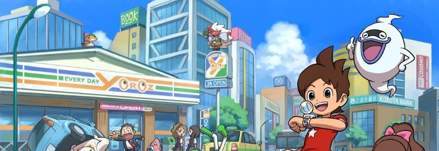 YokaiWatchExt - Yo-Kai Watch, da Aprile in TV in Italia