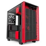 H400i Matte BlackRed FrontFilter - NZXT presenta la nuova Serie H dei suoi case per PC
