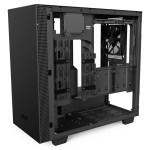 H400i Matte Black Right45 OpenPanel - NZXT presenta la nuova Serie H dei suoi case per PC