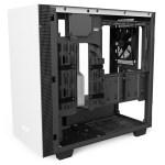 H400i Matte White Right45 OpenPanel - NZXT presenta la nuova Serie H dei suoi case per PC