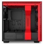 H700i Matte BlackRed Side no Glass - NZXT presenta la nuova Serie H dei suoi case per PC
