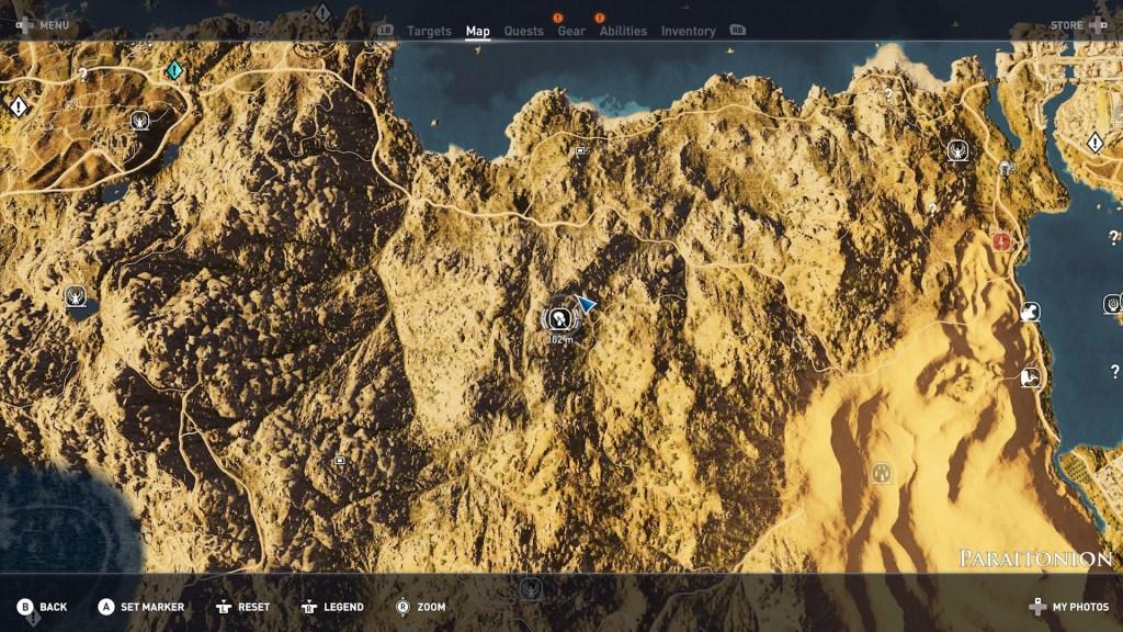 Hermit Paraitonion 01 1024x576 - Guida Assassin's Creed Origins, dove trovare tutte le Statue di Tolomeo e gli Eremi nascosti