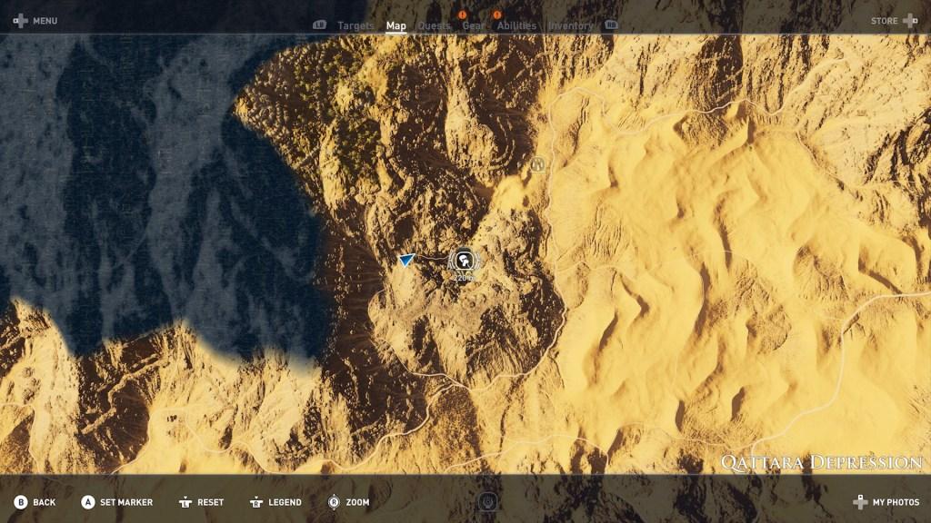 Hermit Qattara 01 1024x576 - Guida Assassin's Creed Origins, dove trovare tutte le Statue di Tolomeo e gli Eremi nascosti
