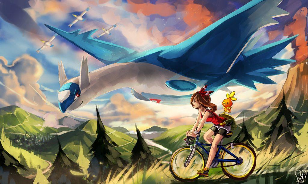 pokemon oras   welcome back by sa dui d854s8e 1024x614 - Guida Pokémon Ultrasole e Ultraluna, uso degli Ultravarchi e cattura di tutti i Pokémon Leggendari