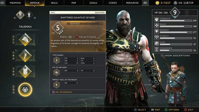 Guanti Kratos - Come ottenere il Guanto dell'Infinito su God Of War