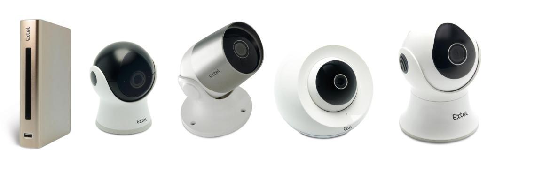 mini GAMMA - Videosorveglianza al top con le nuove telecamere IP di Extel