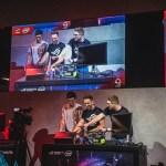 Influence AlexiBexi left and ASUS Frank Sirius create a new PC build at ROG stage during Gamescom 2018  - Gamescom 2018, Asus presenta le nuove schede grafiche NVIDIA RTX e tanti nuovi prodotti dedicati al gaming