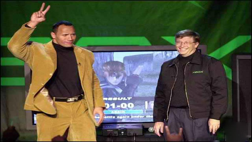 the rock bill gates xbox - Back 2 The Past: Xbox, una nuova concorrente prova a fermare il dominio PlayStation