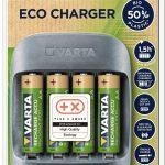 ECO CHARGER 150x150 - Varta, presentate le prime batterie riciclabili realizzate con l'11% di materiale riciclato