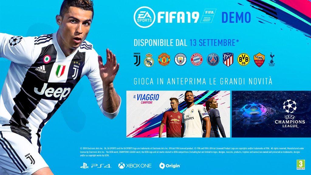 FIFA19 DEMO FINALASSETS ALL PLAT 16x9 1 1024x576 - La Demo di FIFA 19 sarà disponibile dal 13 settembre