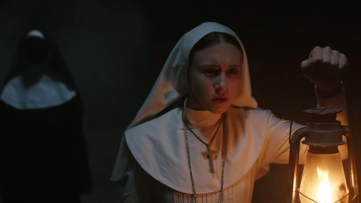 Screenshot from The Nun First Trailer - The Nun, la Vocazione del Male - Un horror vecchio stile