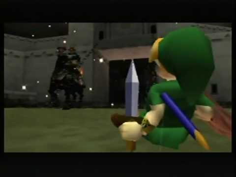 link ganon 1st - Back 2 The Past: parliamo di The Legend of Zelda: Ocarina of Time