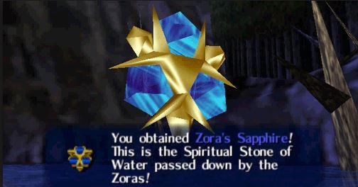 ocarina of time zora sapphire - Back 2 The Past: parliamo di The Legend of Zelda: Ocarina of Time
