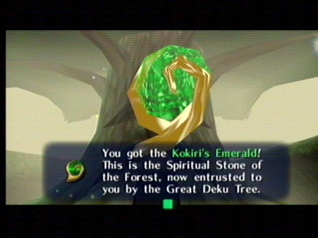 the legend of zelda smeraldo kokiri - Back 2 The Past: parliamo di The Legend of Zelda: Ocarina of Time