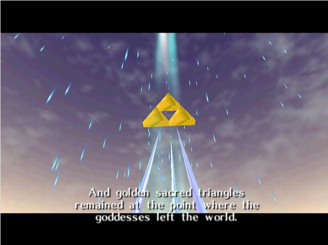 zelda triforce - Back 2 The Past: parliamo di The Legend of Zelda: Ocarina of Time