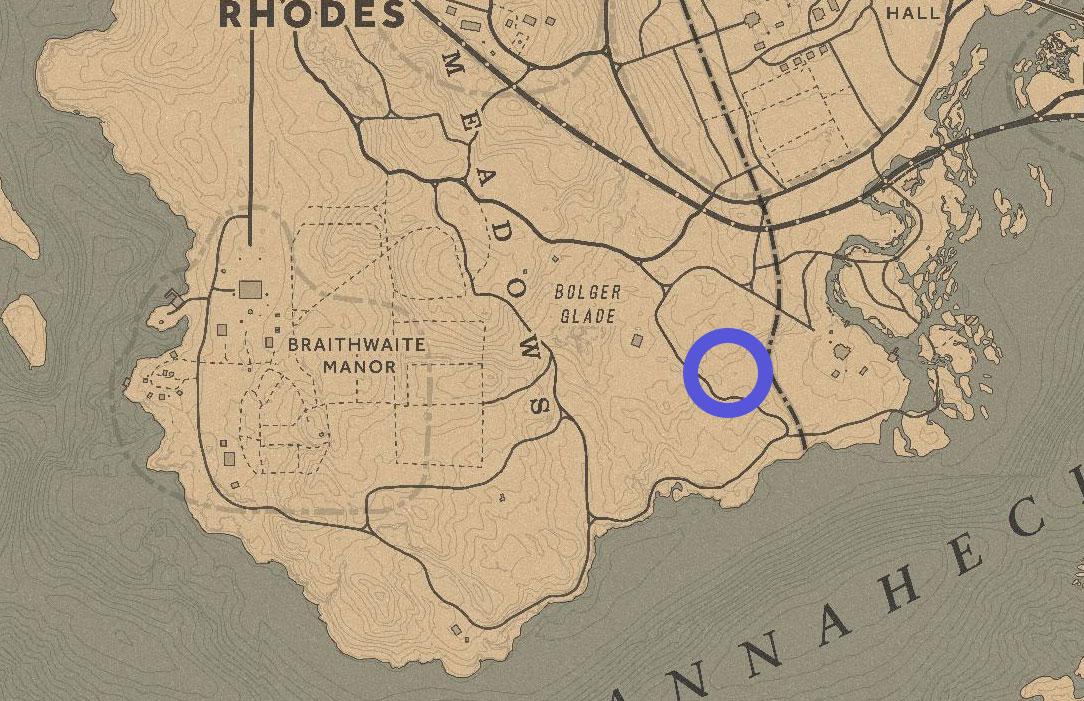 rdr2 kieran duffy grave location map - Red Dead Redemption 2, dove trovare tutte le tombe