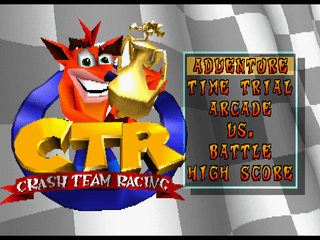 320px Crash Team Racing title - Back 2 The Past - Crash Team Racing